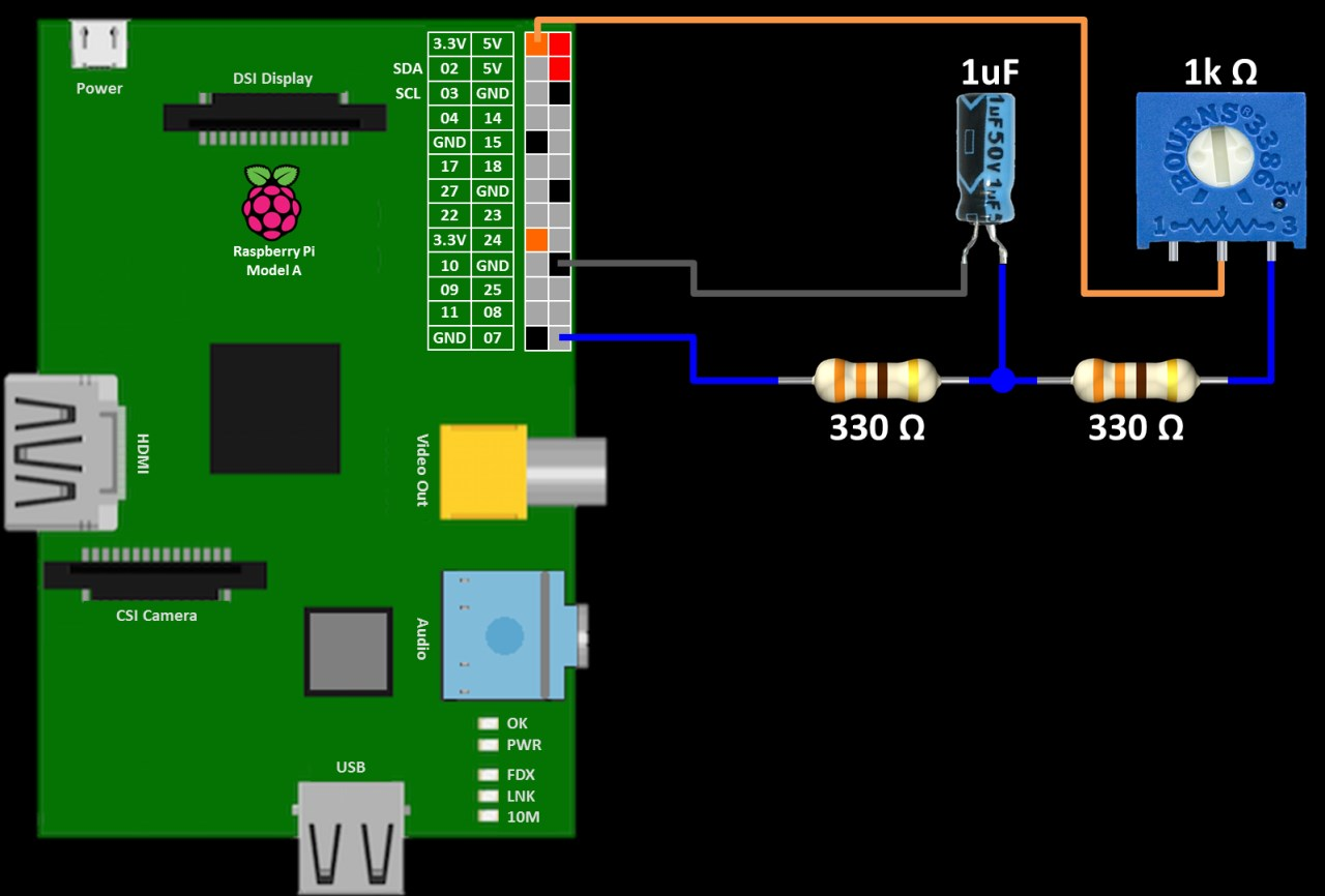 Raspberry Pi Analog Water Sensor Tutorial Rototron Temperature Led Meter Circuit Diagram Rc Charging