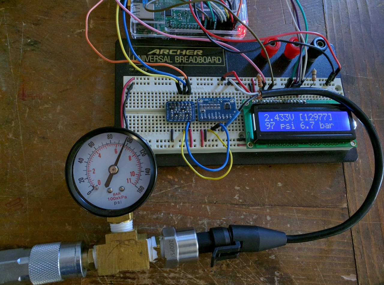 Raspberry Pi Analog Water Sensor Tutorial Rototron Schematic Of Rain Circuit Pressure