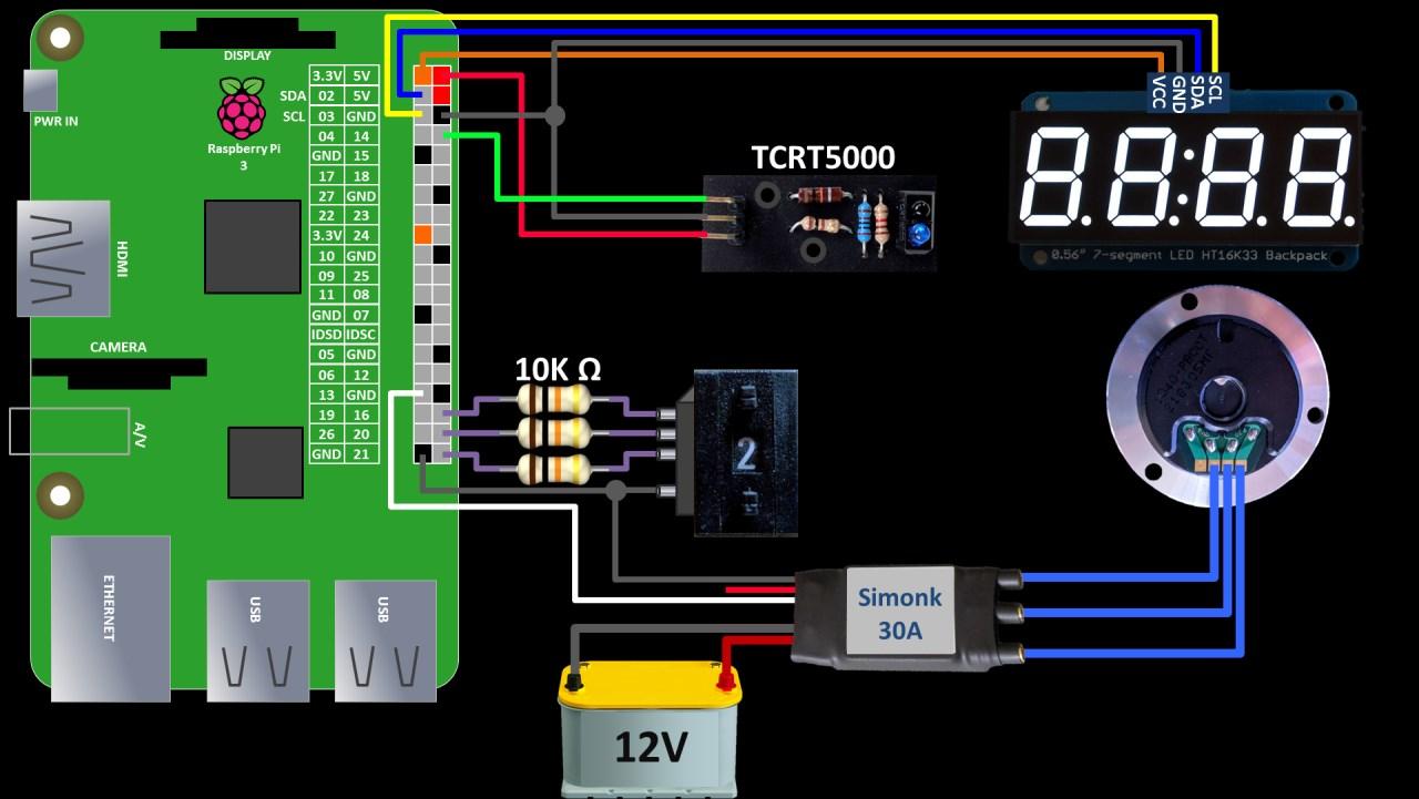 Raspberry Pi Esc Motor Tutorial Rototron