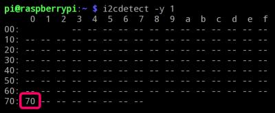 I2C Detect Utility