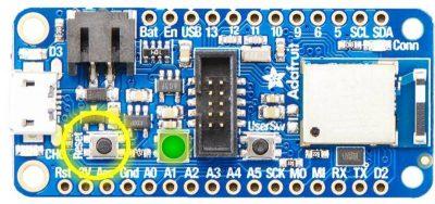 nRF52840 Board Reset