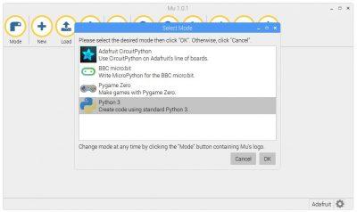 Mu Mode Swtich to Python 3