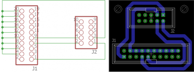 Adapter Eagle Schematic & Board
