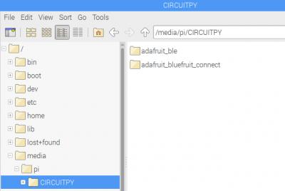 CIRCUITPY Folder