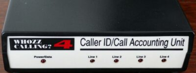 Caller ID Hardware Front