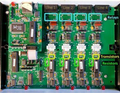 Caller ID PCB