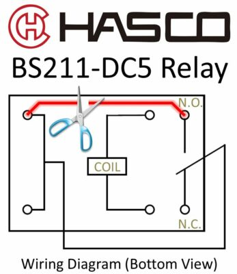 BS211-DC5 Relay