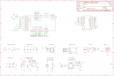 nRF52840 Feather Schematics