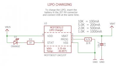 LiPo Charging Schematic