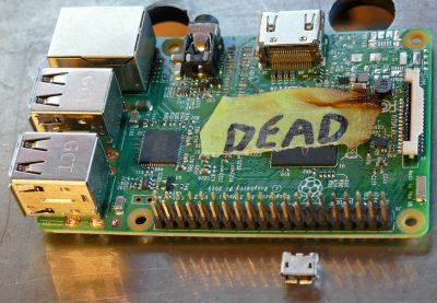 Fried Raspberry Pi