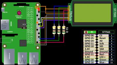 GLCD Wiring Schematic