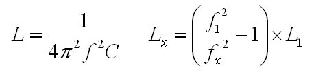 Inductance Formulas