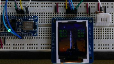 Display Sensor Readings
