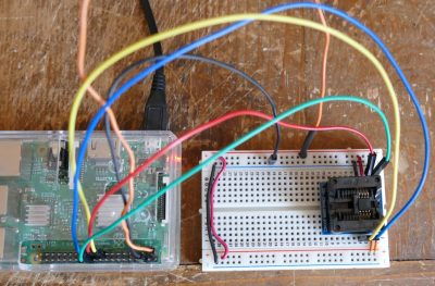 Direct Chip Wiring on Breadboard