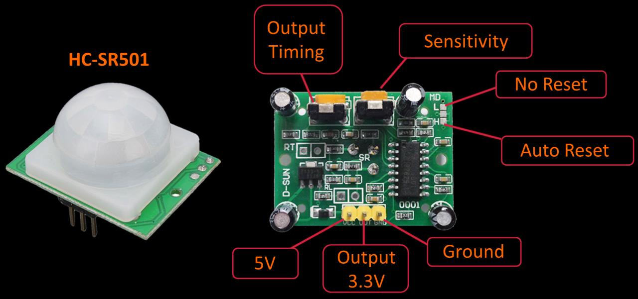 Using a Motion Detector on Raspberry Pi | Rototron