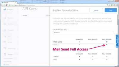 Mail Send Full Access