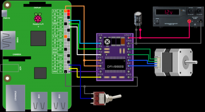 Schematic with switch