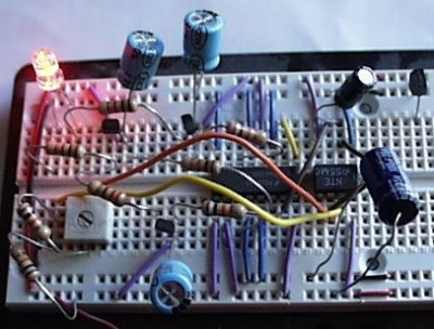 Circuit on Breadboard
