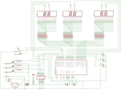 Rainbow Circuit Schematic