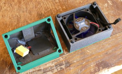 Charging Cradle Fan & Ferrite Plate