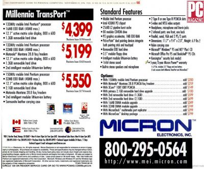 Micron Transport Ad