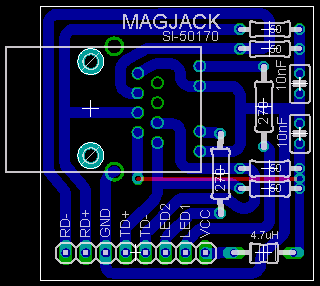 Magjack Board Drawing